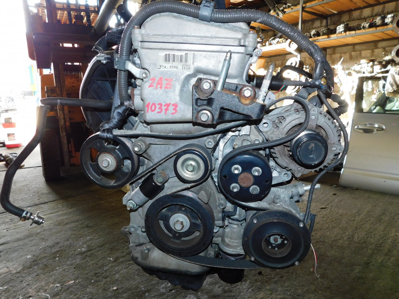 Двигатель Toyota Estima ACR50 2AZ-FE (б/у)