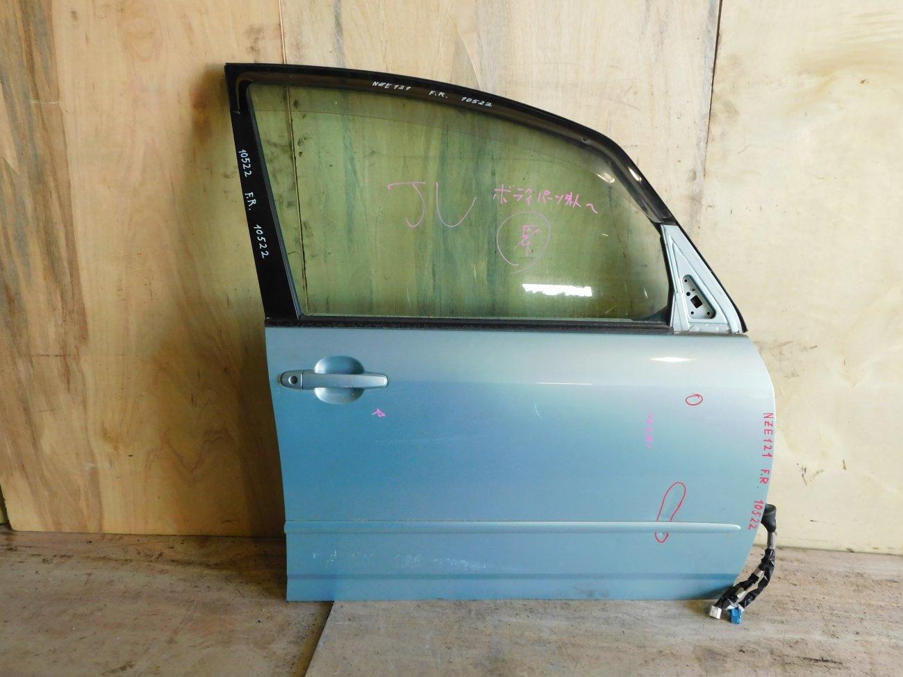 Дверь Toyota Corolla Spacio NZE121 передняя правая (б/у)