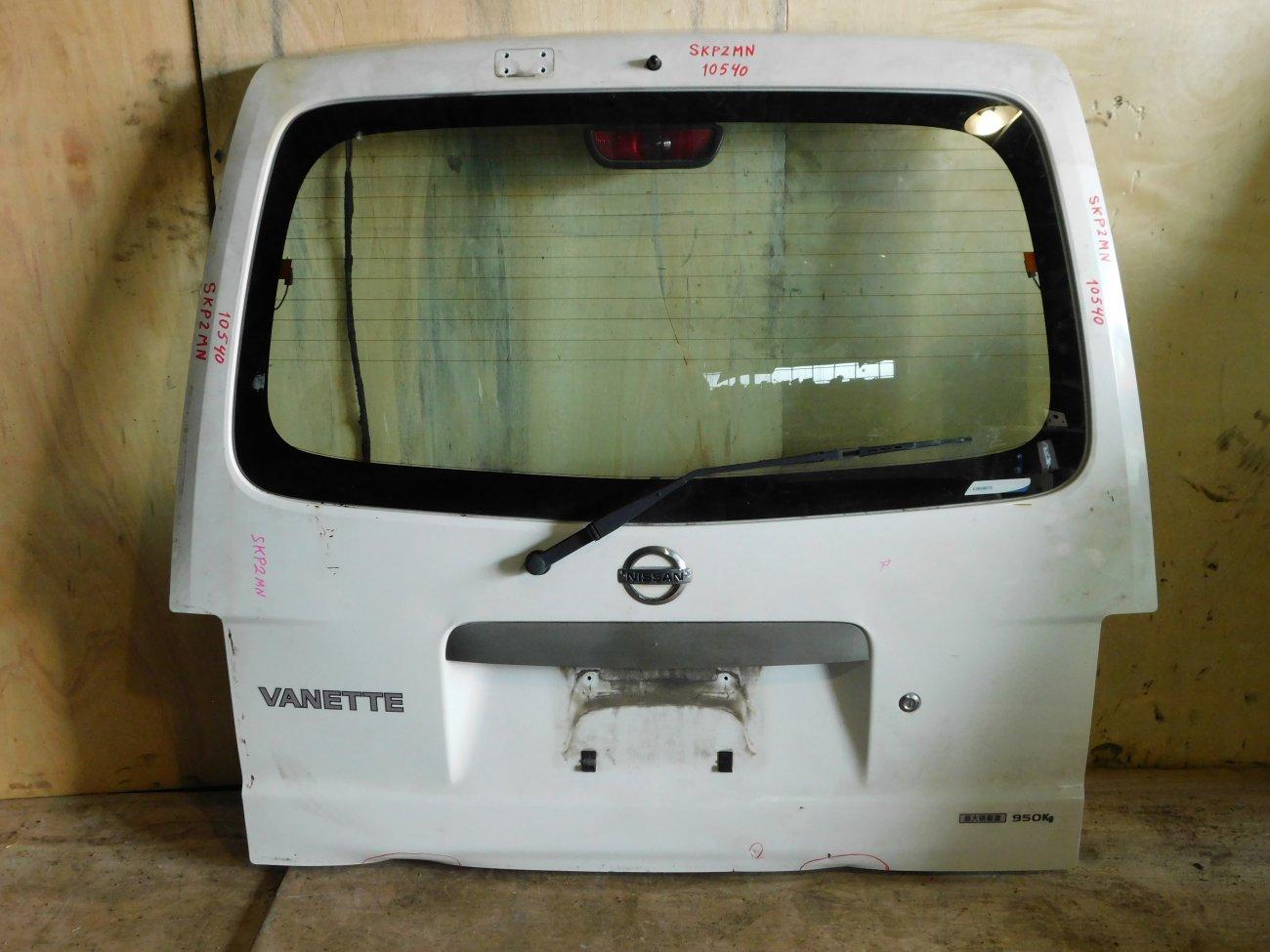 Дверь 5-я Nissan Vanette SKP2MN (б/у)