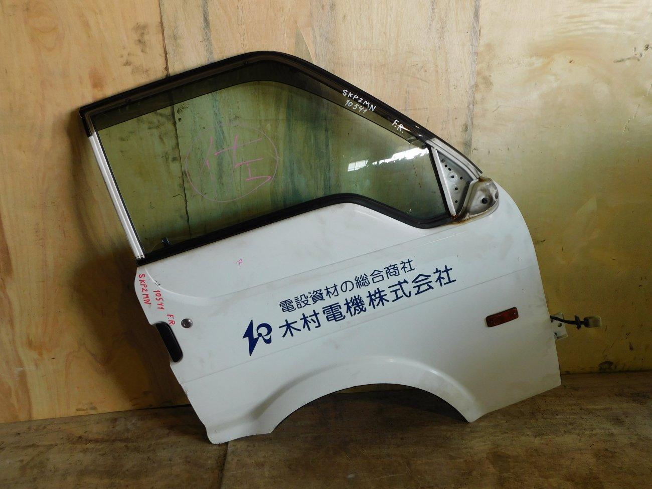 Дверь Nissan Vanette SKP2MN передняя правая (б/у)