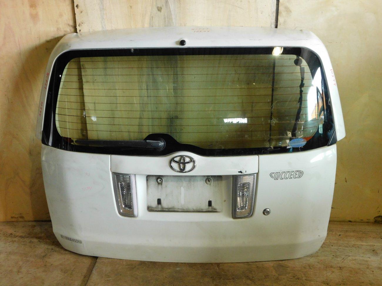 Дверь 5-я Toyota Succeed NCP51 (б/у)