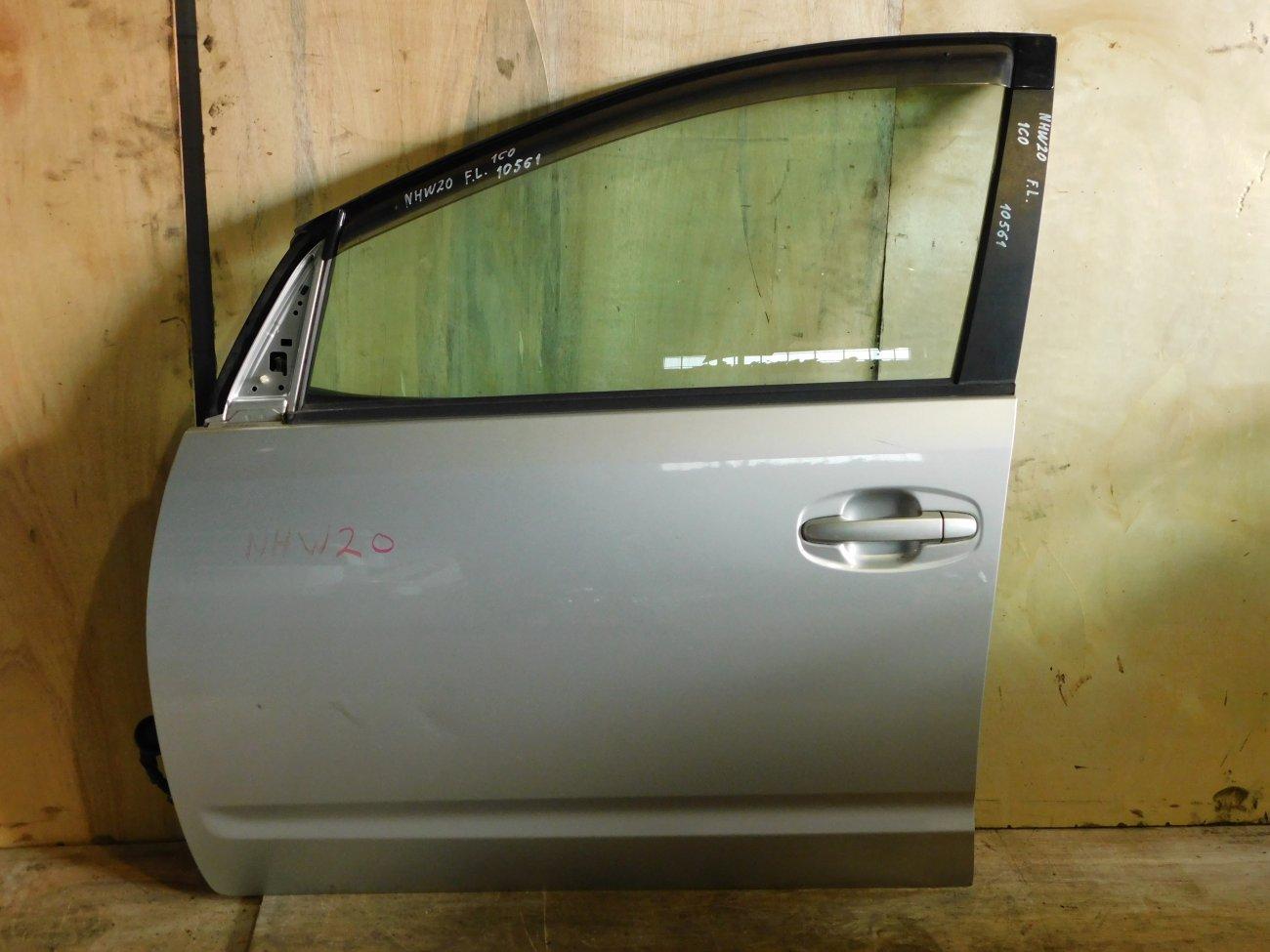 Дверь Toyota Prius NHW20 передняя левая (б/у)