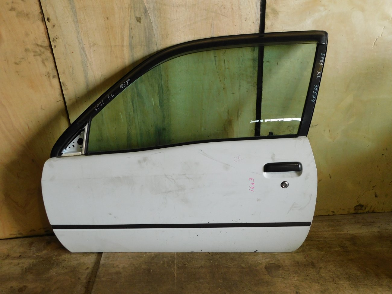 Дверь Toyota Starlet EP91 передняя левая (б/у)