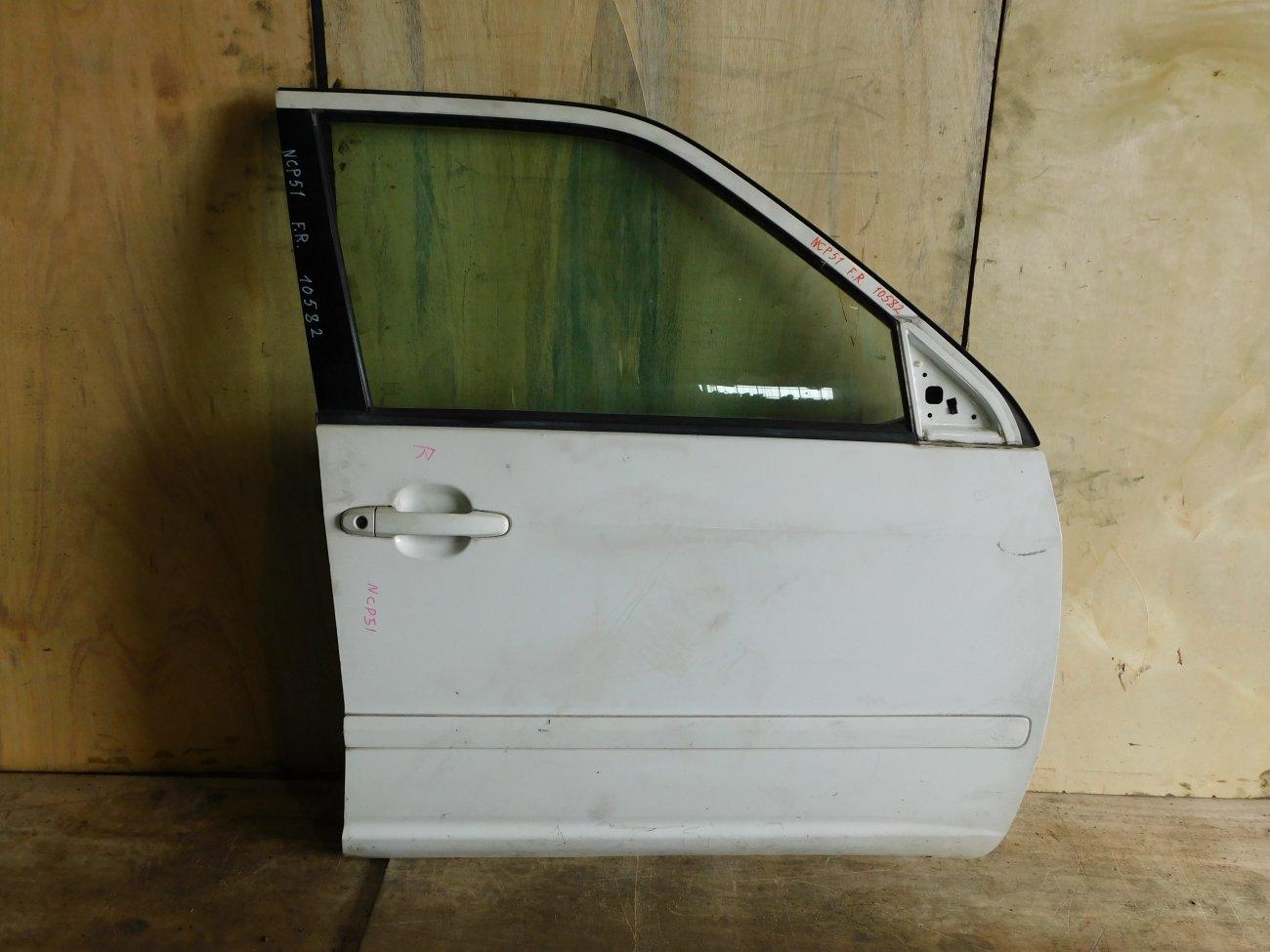 Дверь Toyota Succeed NCP51 передняя правая (б/у)