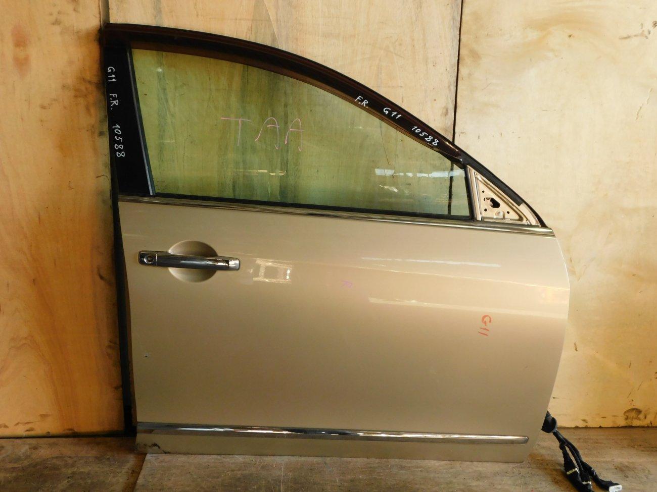 Дверь Nissan Bluebird Sylphy G11 передняя правая (б/у)