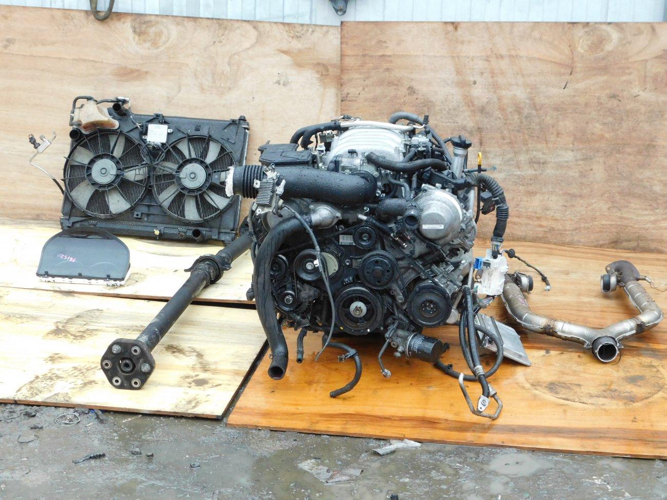 Двигатель Toyota Celsior UCF30 3UZ-FE (б/у)