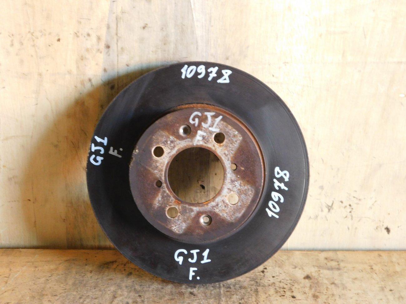 Тормозной диск Honda Airwave GJ1 L15A передний (б/у)