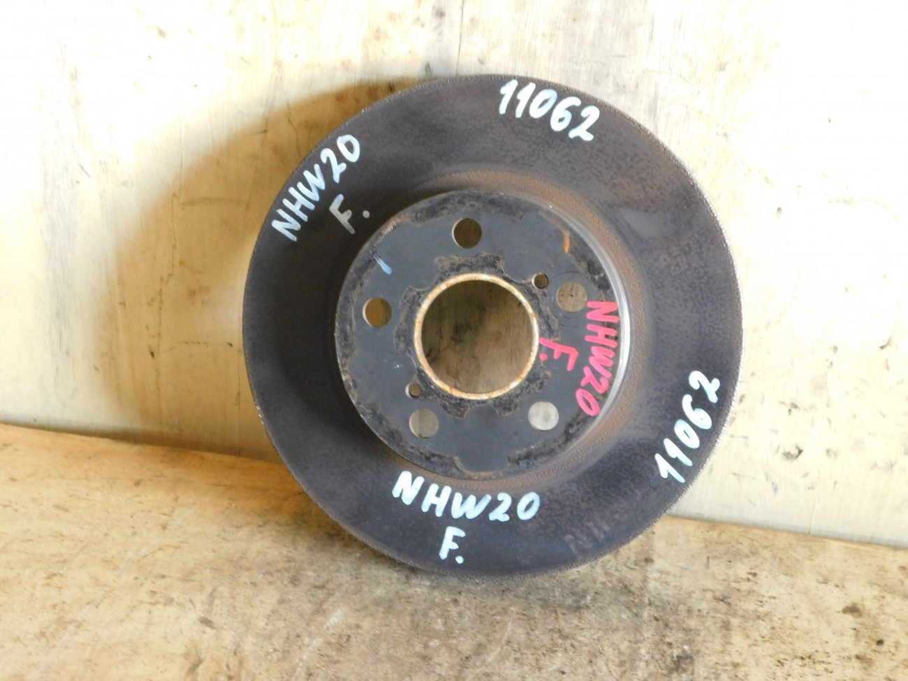 Тормозной диск Toyota Prius NHW20 1NZ-FXE передний (б/у)