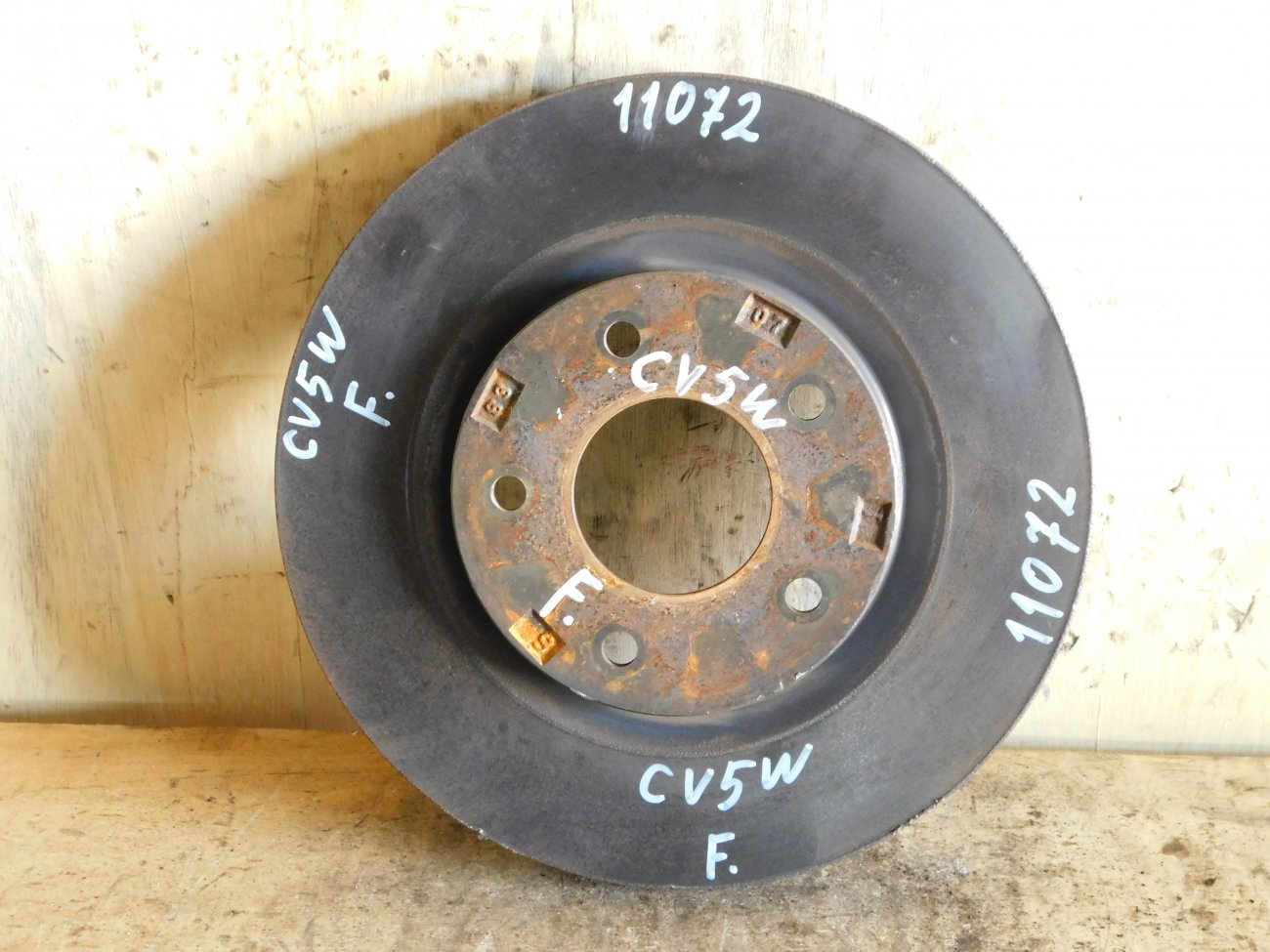 Тормозной диск Mitsubishi Delica D5 CV5W 4B12 передний (б/у)