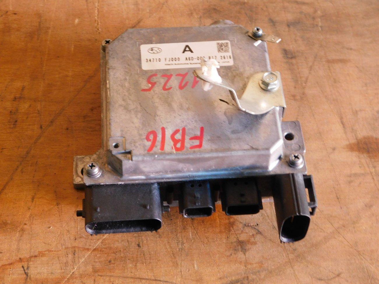 Блок управления рулевой рейкой Subaru Xv GP2 FB16 (б/у)