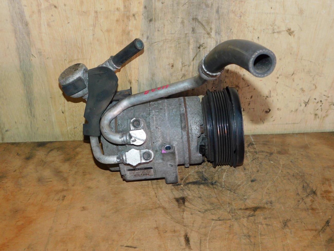 Компрессор кондиционера Mazda Mpv LY3P L3VE (б/у)