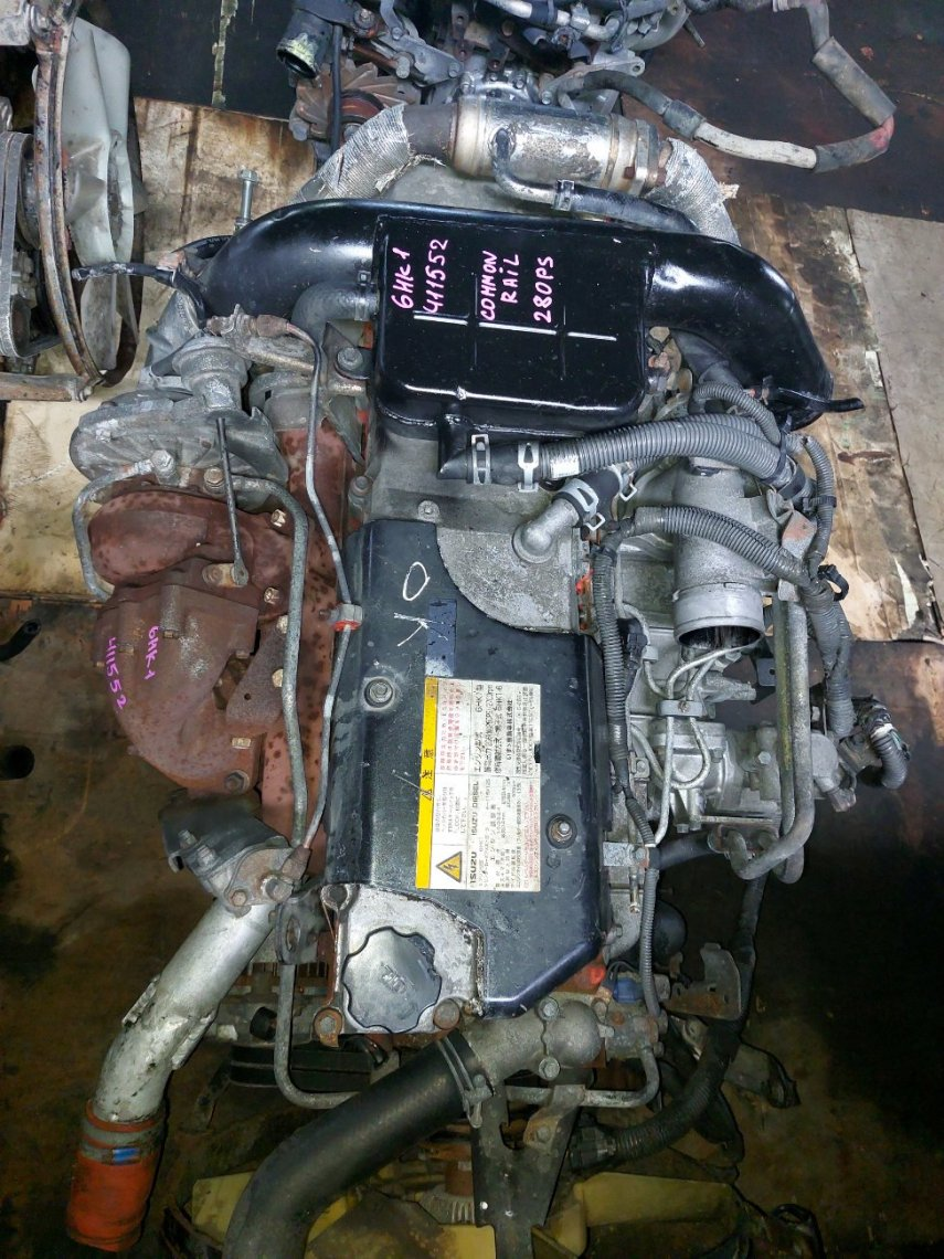 Двигатель Isuzu Forward FRR34 6HK1 (б/у)
