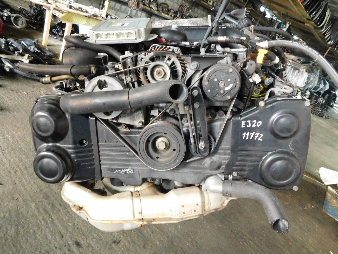 Двигатель Subaru Legacy BP5 EJ20X 07.06.2003 (б/у)