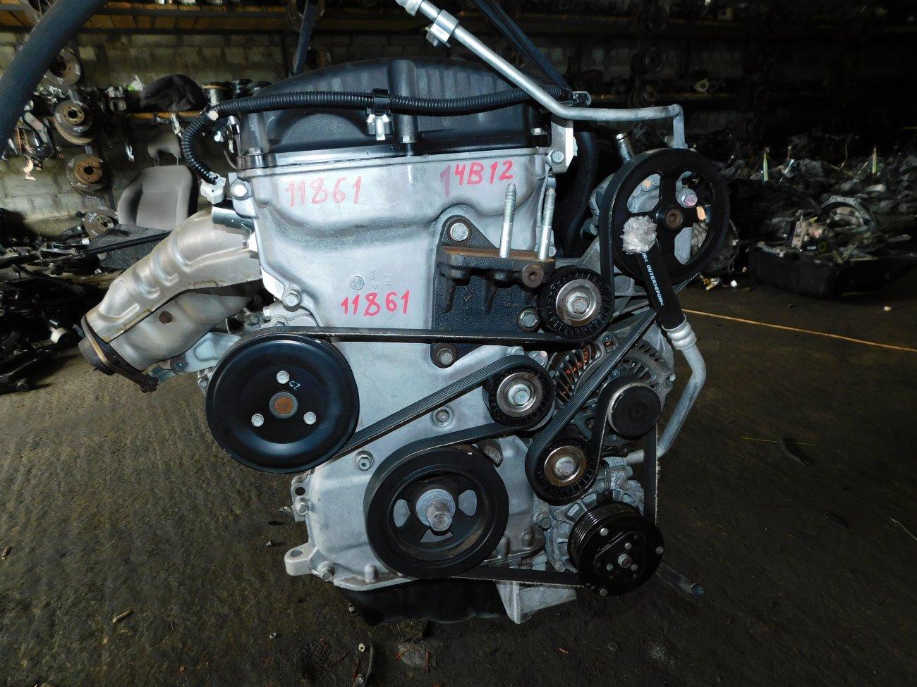 Двигатель Mitsubishi Delica D5 CV5W 4B12 (б/у)