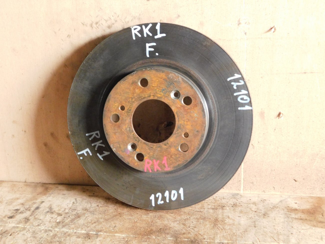 Тормозной диск Honda Stepwgn RK1 R20A передний (б/у)