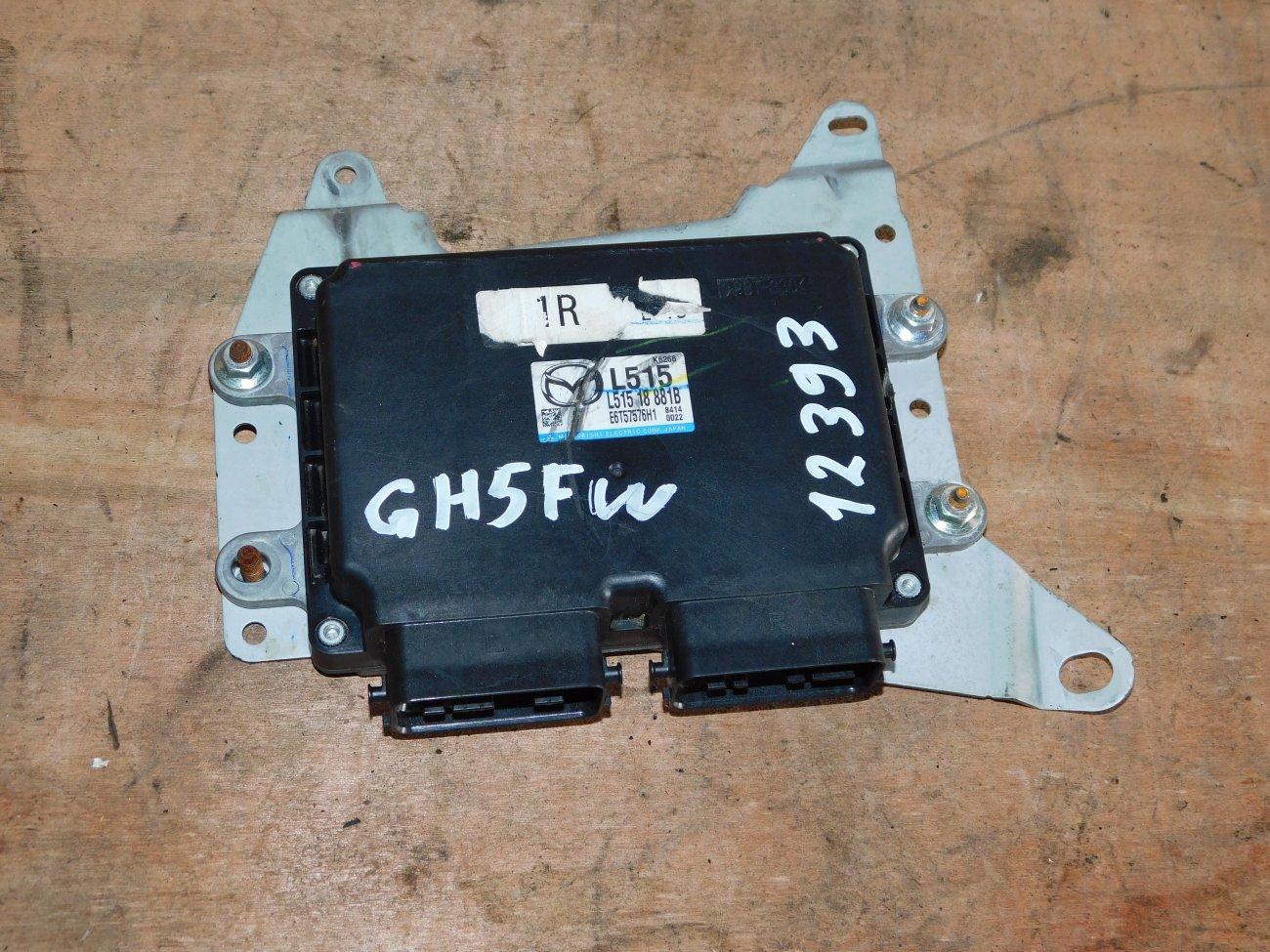 Блок управления efi Mazda Atenza GH5FW L5VE (б/у)