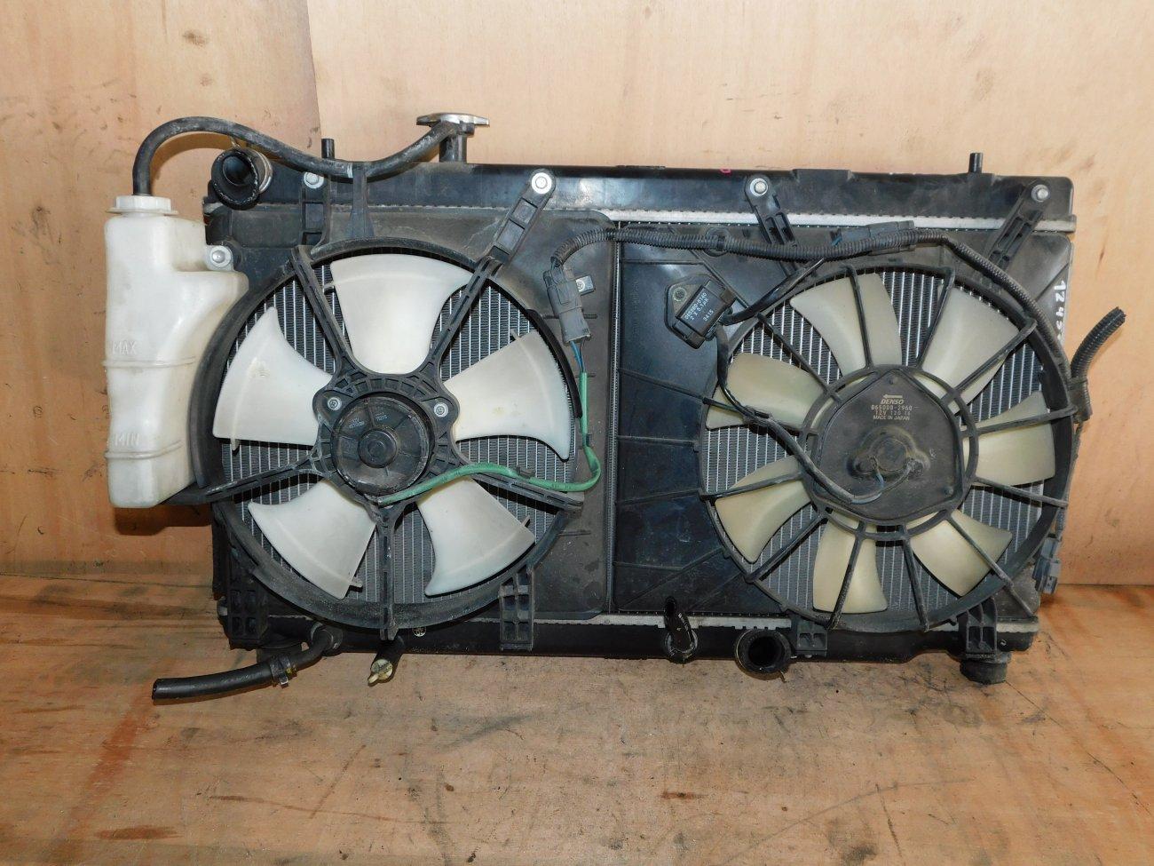 Радиатор основной Honda Airwave GJ1 L15A (б/у)