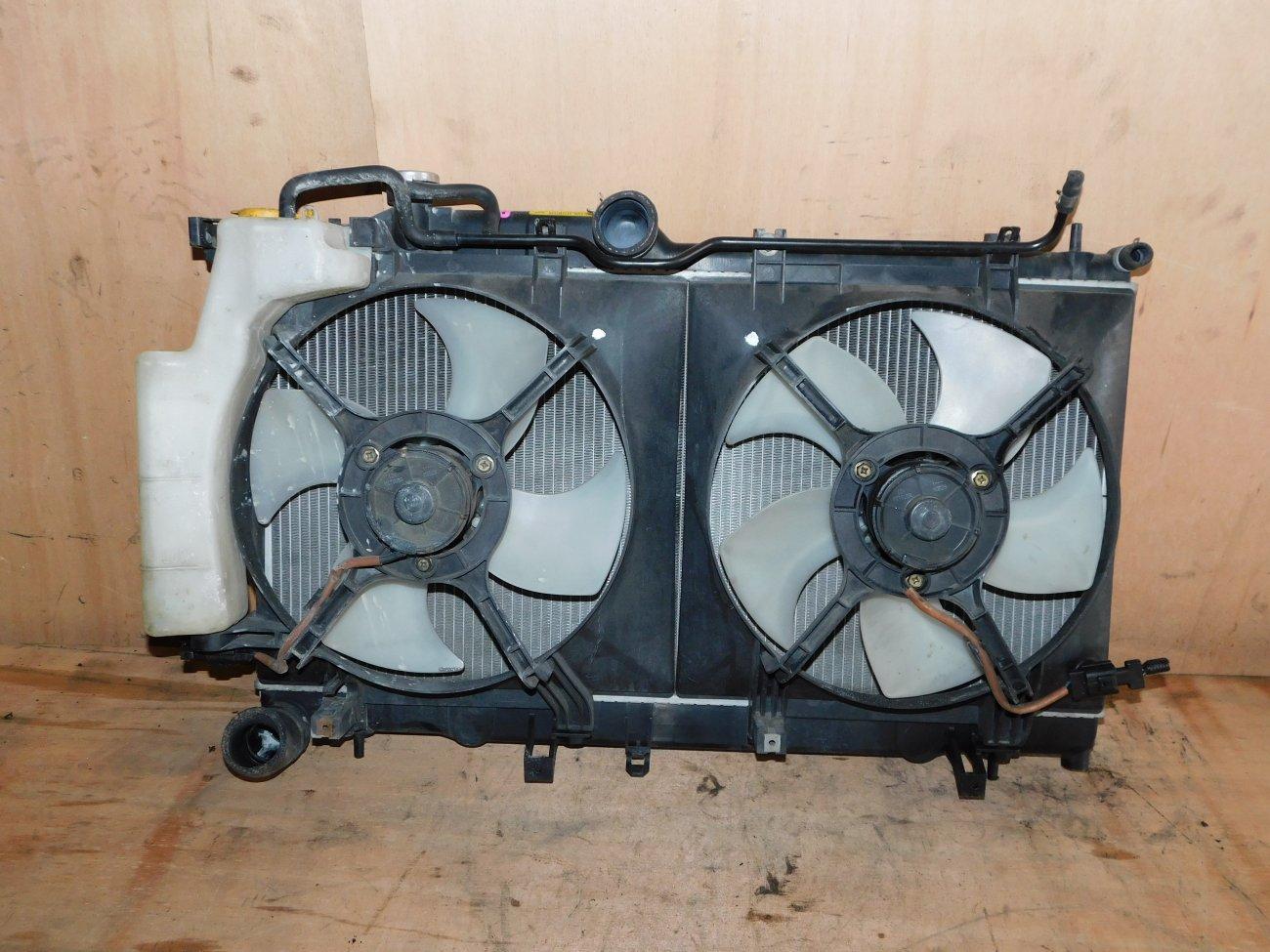 Радиатор основной Subaru Legacy BP5 EJ202 (б/у)
