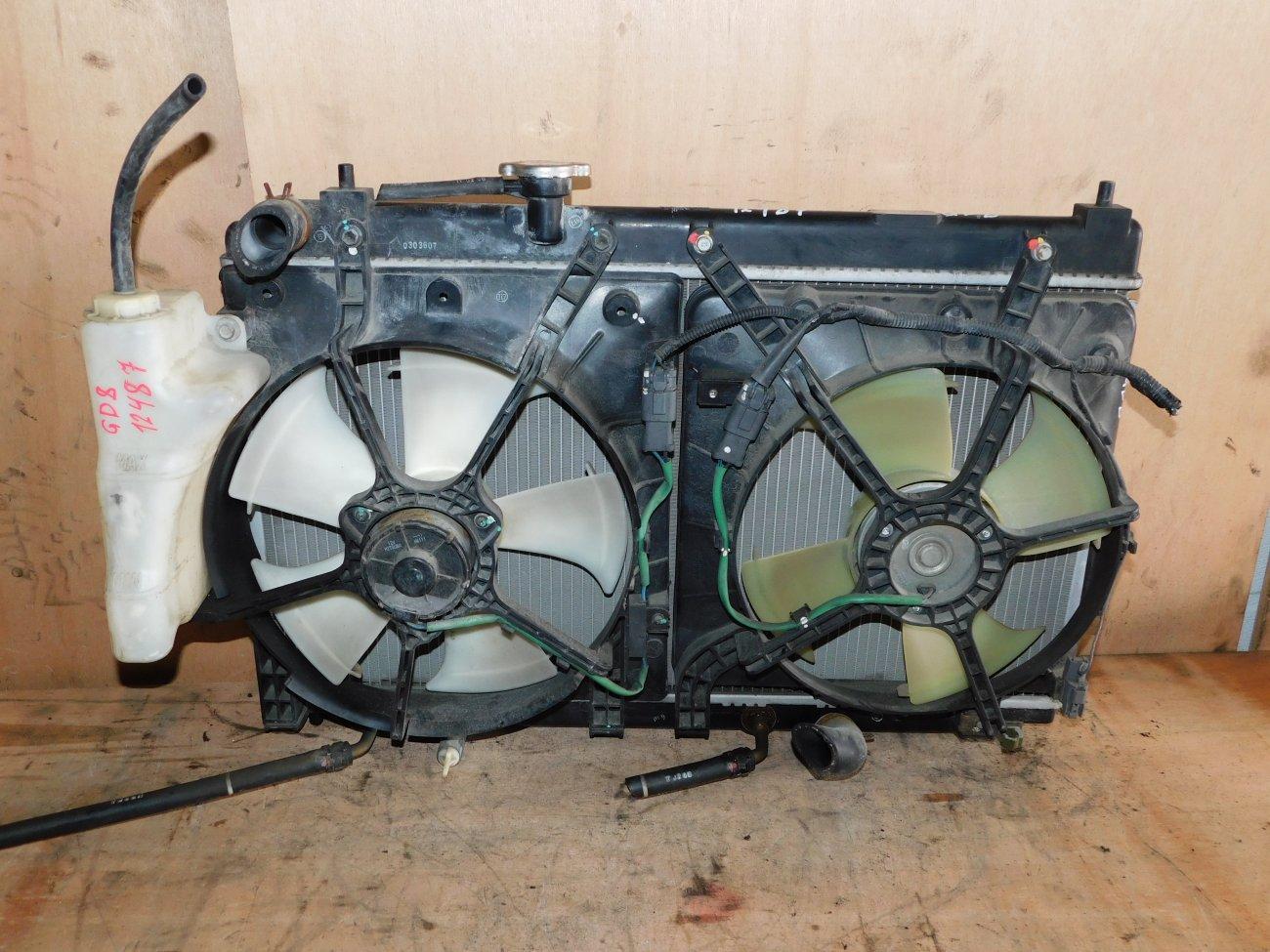Радиатор основной Honda Fit Aria GD8 L15A (б/у)