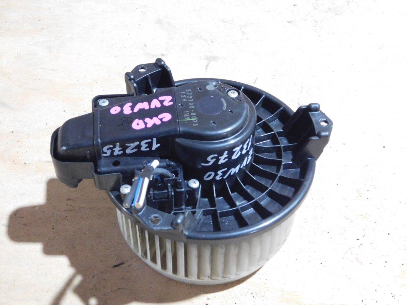 Мотор печки Lexus Prius ZVW30 2ZR-FXE (б/у)