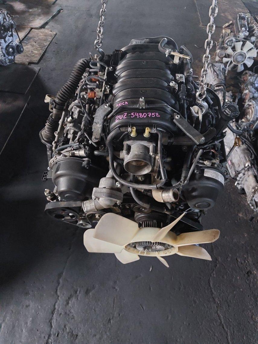 Двигатель Lexus Lexus Gx470 Lx470 UZJ120 2UZFE (б/у)