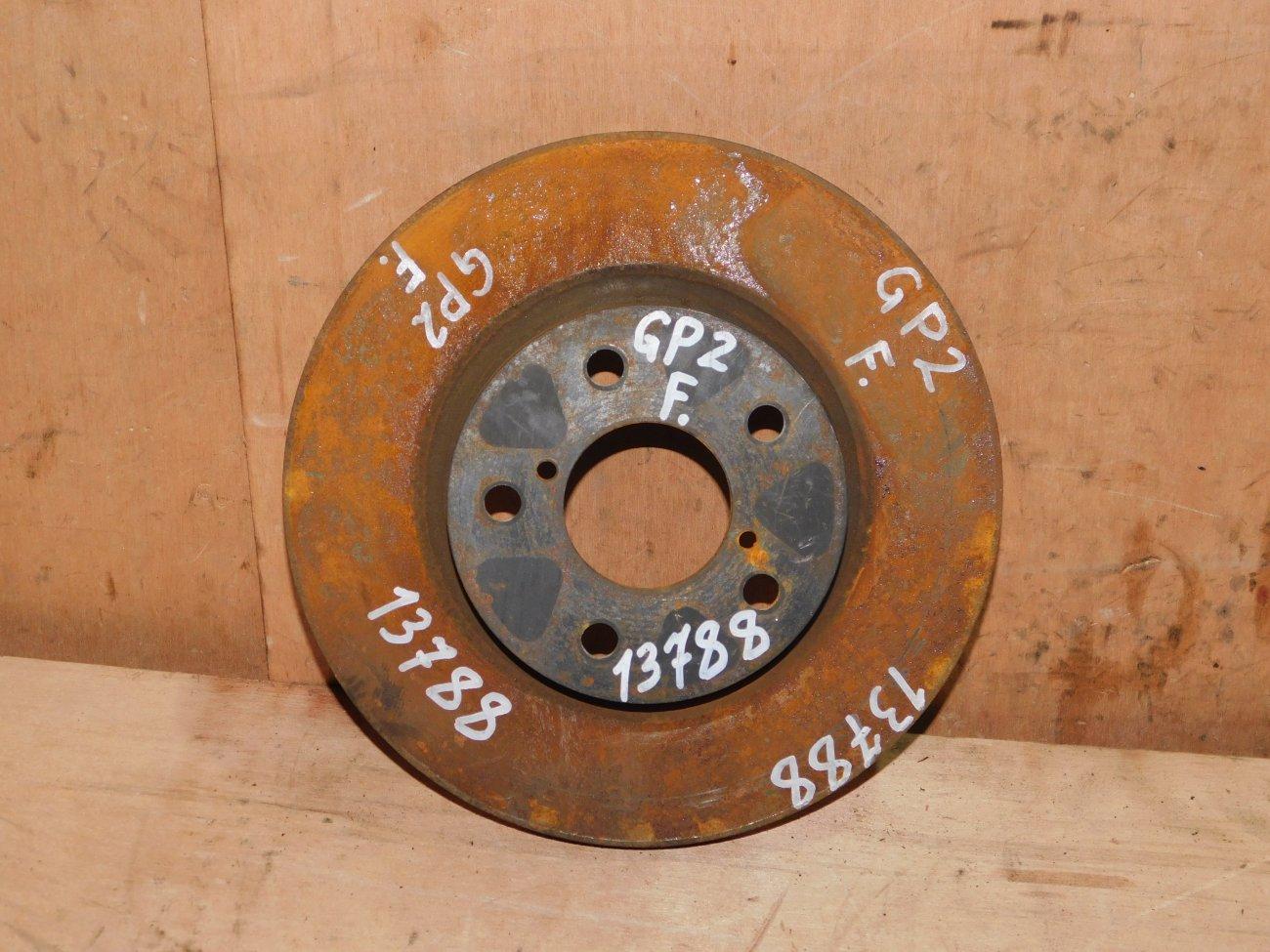 Тормозной диск Subaru Xv GP2 FB16 передний (б/у)