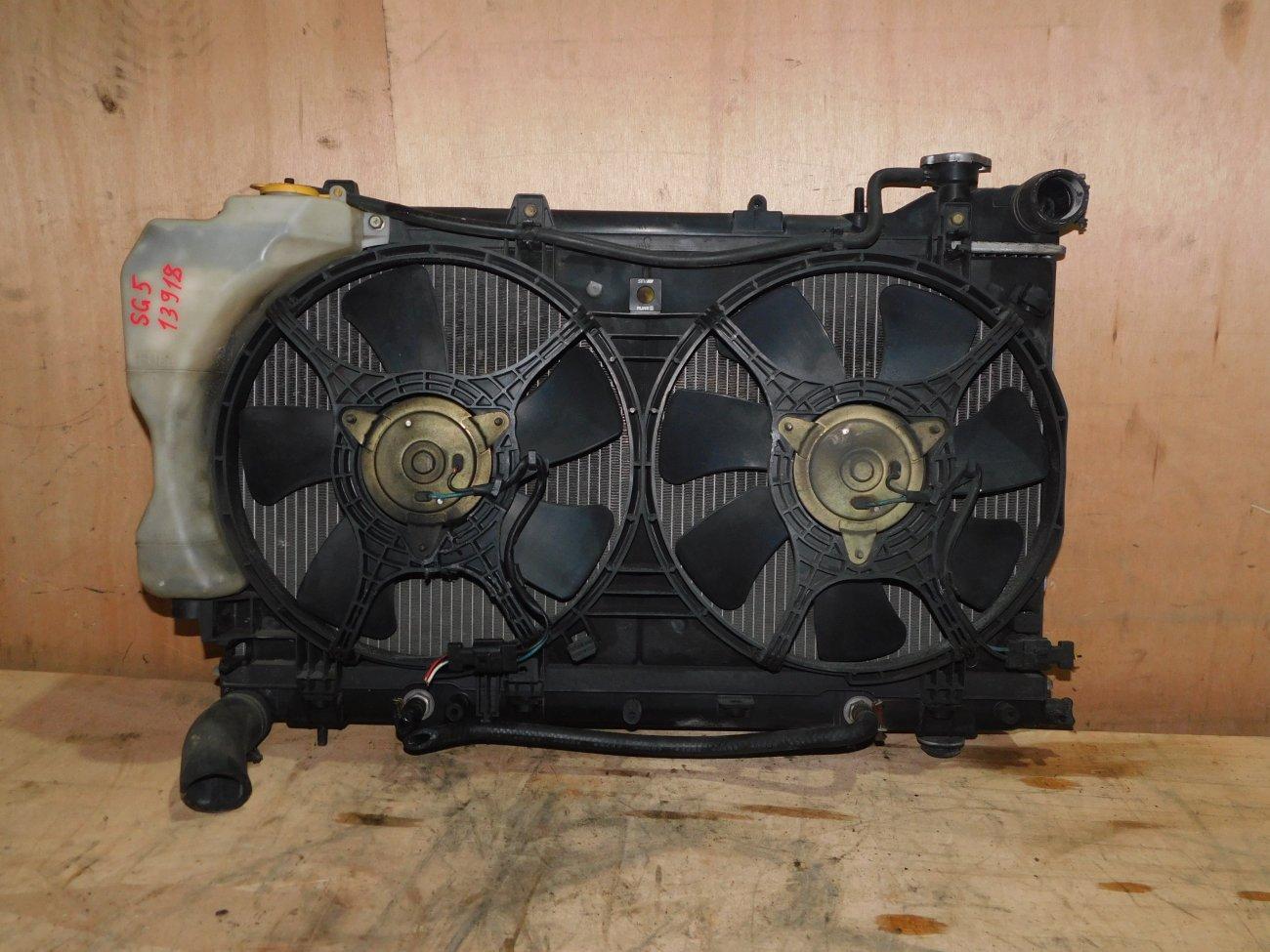 Радиатор основной Subaru Forester SG5 EJ202 (б/у)
