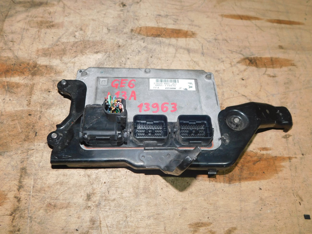 Блок управления efi Honda Fit GE6 L13A (б/у)