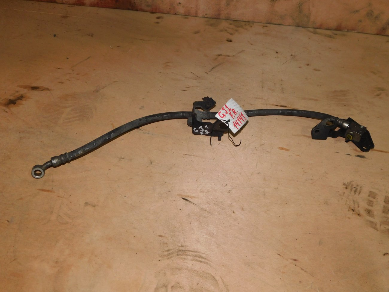 Шланг тормозной Honda Airwave GJ1 L15A передний правый (б/у)