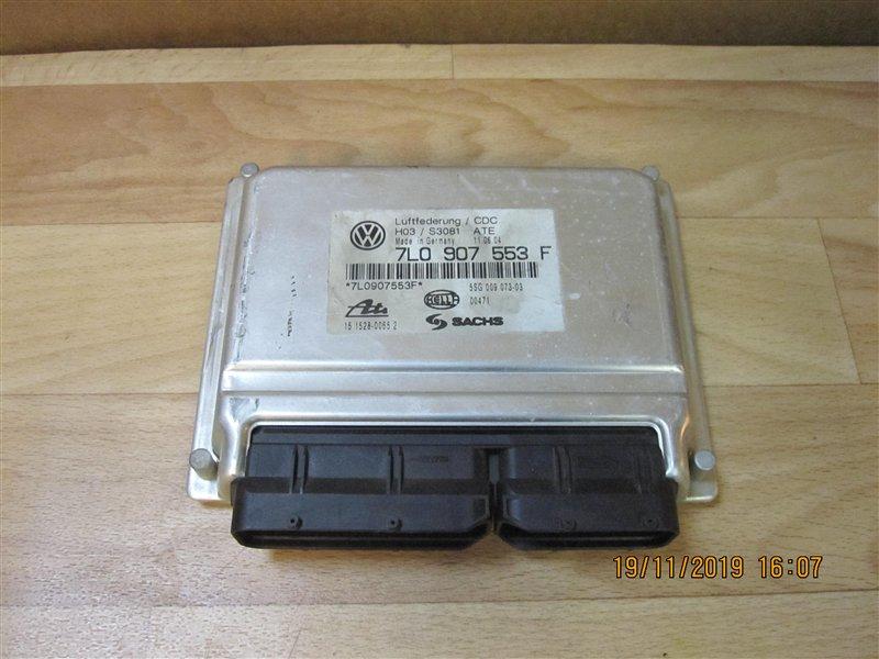Блок управления подвеской Volkswagen Touareg 7L6 AXQ 2004 (б/у)