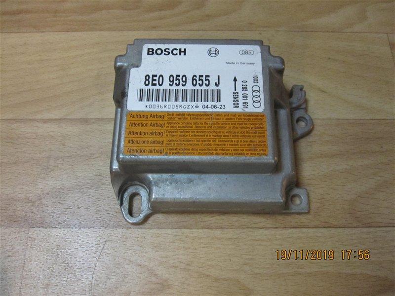 Блок управления аирбаг Audi А4 8ЕВ6 BFB 2004 (б/у)