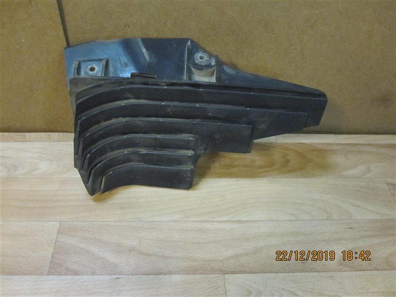 Защита антигравийная Audi Allroad 4B ARE 2002 задняя левая нижняя (б/у)