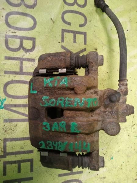 Суппорт Kia Sorento 3.5 2002 задний левый (б/у)