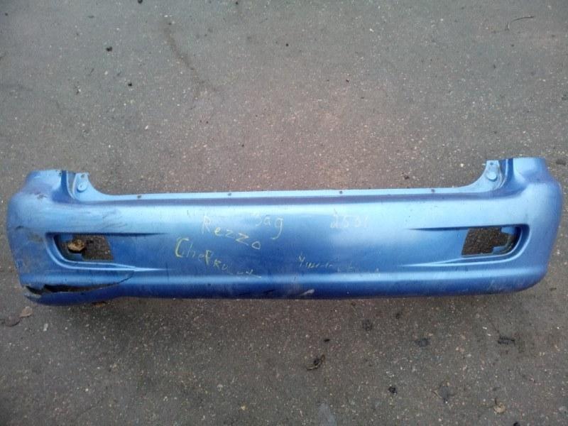 Бампер Chevrolet Rezzo задний (б/у)