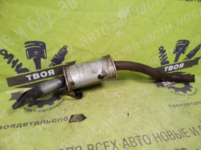 Задняя банка глушителя Nissan Patrol Y61 3.0 ZD30 2007 (б/у)