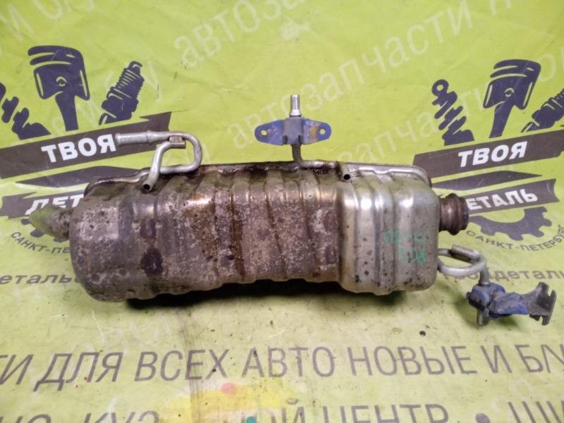 Задняя банка глушителя Peugeot 308 1.6 EP6 ТУРБО 140Л.С. 2008 (б/у)