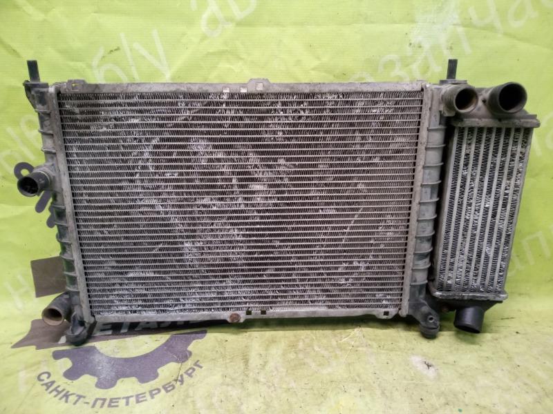 Радиатор двс Opel Astra F СЕДАН 1995 (б/у)