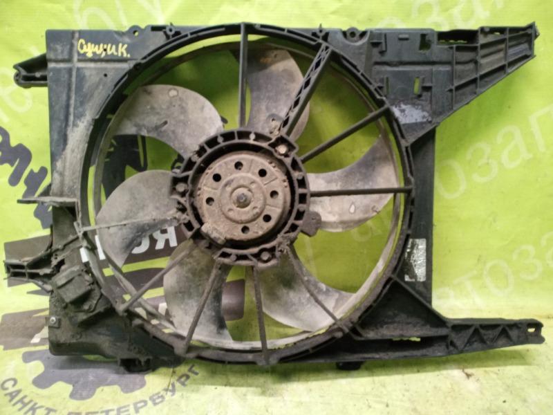 Вентилятор радиатора Renault Megane Scenic 1 1.6 K4M700 16V 1999 (б/у)
