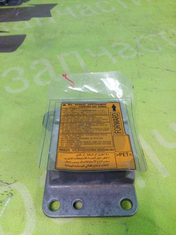 Блок управления air bag Nissan Patrol Y61 3.0 ZD30 2007 (б/у)