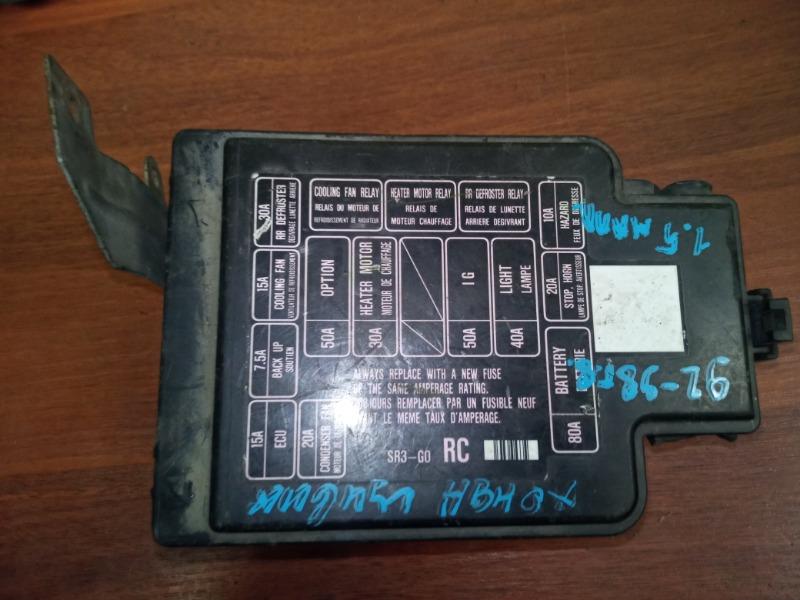 Блок предохранителей Honda Civic 1991-1995 D15B 1.5 1992 (б/у)