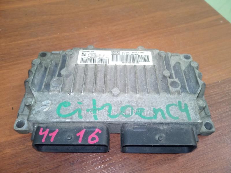 Блок управления акпп Citroen C4 TU5 1.6 2006 (б/у)