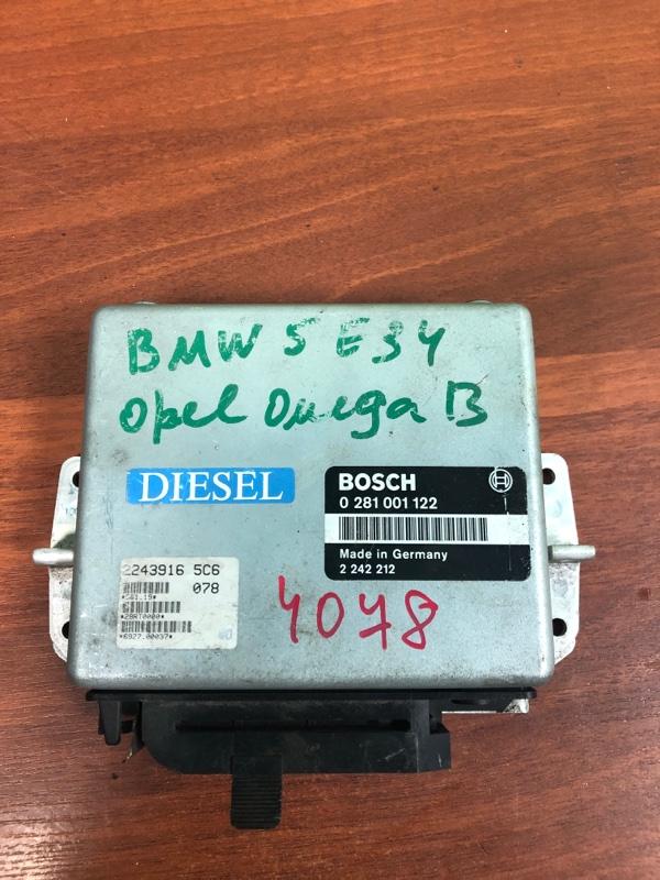 Блок управления двигателем Bmw 5 Series 524 E34 2.4 ДИЗЕЛЬ M21 1991г.в. (б/у)