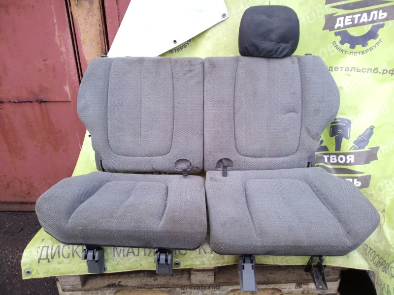Комплект сидений Suzuki Grand Vitara 1 2.5 1999 задний (б/у)