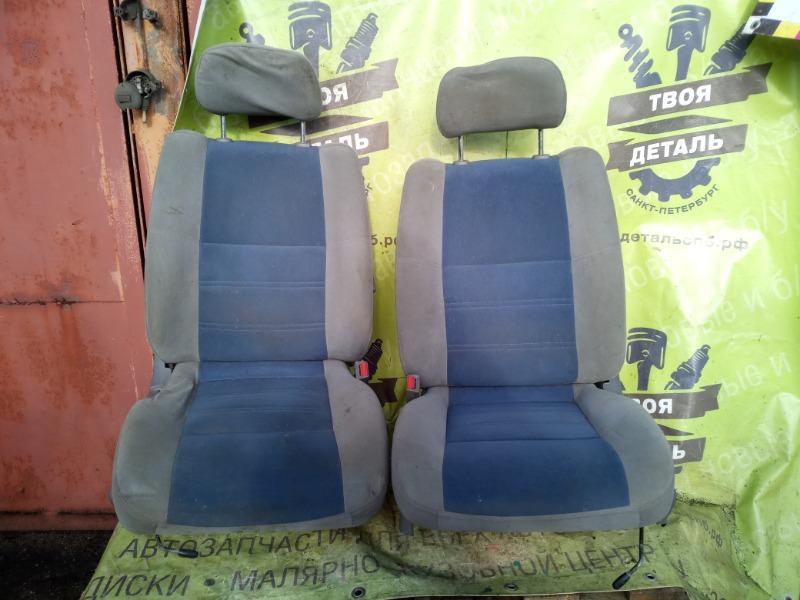 Комплект сидений Nissan Terrano Pathfinder R50 ZD30DDTI 3.0 2003 передний (б/у)