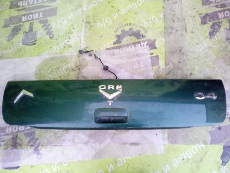 Накладка багажника Citroen C4 TU5 1.6 2006 (б/у)
