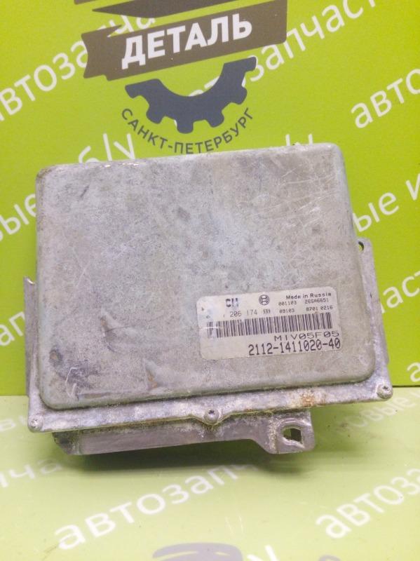 Блок управления двигателем Ваз 2112 1.6 16V 2006 (б/у)