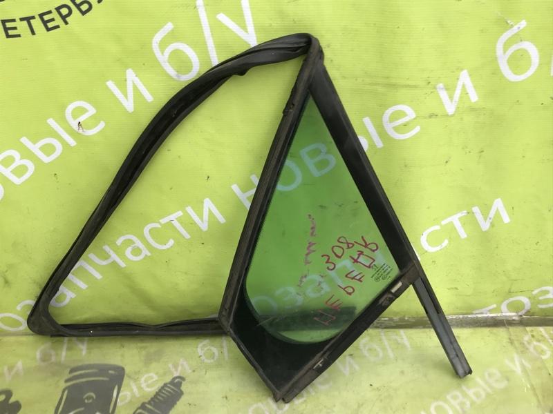 Форточка двери Peugeot 308 1.6 EP6 2008 передняя левая (б/у)