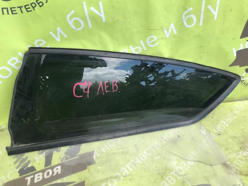 Стекло кузовное глухое Citroen C4 TU5 1.6 2006 заднее левое (б/у)