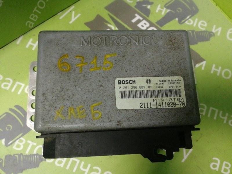 Блок управления двигателем Ваз 2110 1.5 8V 2004 (б/у)