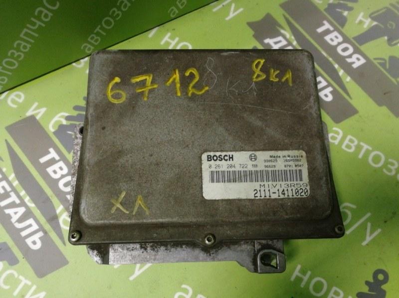 Блок управления эбу Ваз 2110 (б/у)
